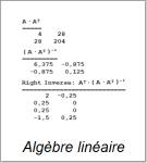 Algèbre Linéare